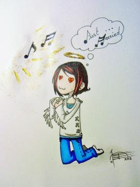 Être ou ne pas être une fan ? © Sato, 26/01/14
