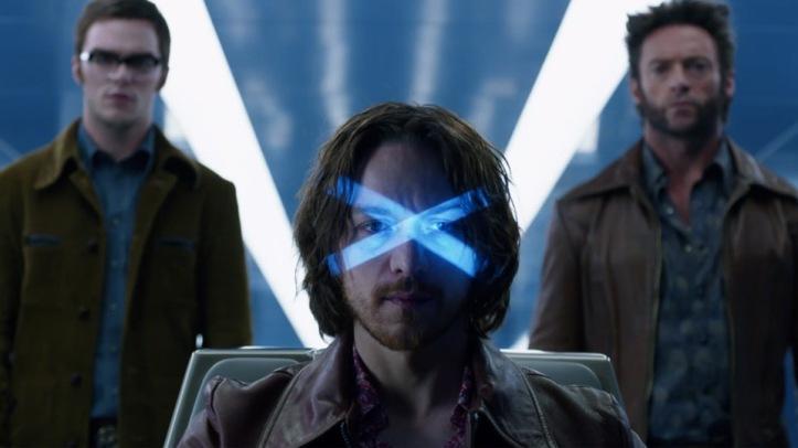X men days futur past wolwerine le fauve et professeur Xavier