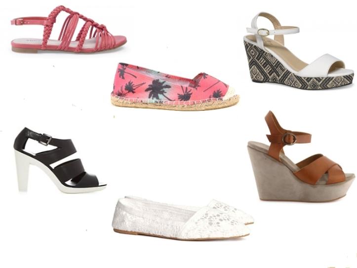 Montage soldes chaussures été 2014