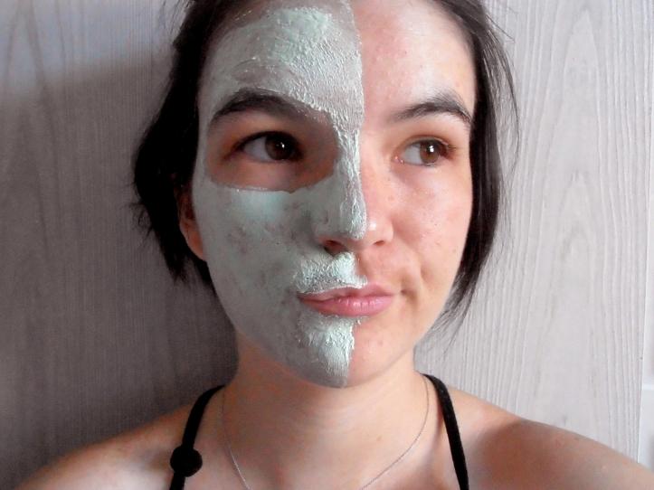 Moitié du masque yves rocher pour peaux grasses