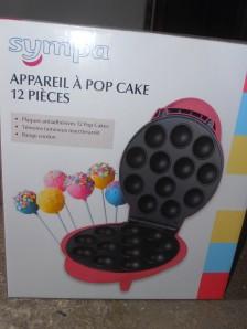 Brocante appareil à pop cake