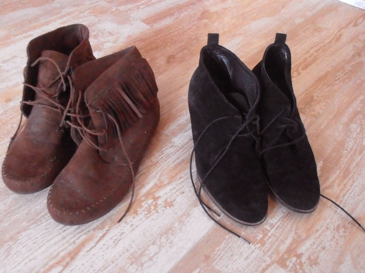 Brocante chaussures