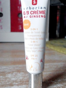 BB crème ginseng doré Birchbox