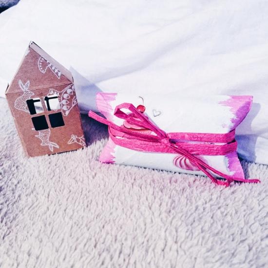 emballer ses cadeaux avec du papier toilette