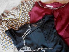 Soldes 2015 blouses promod et t-shirt nafnaf