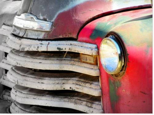 Image libre de droit voiture rétro